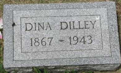 DILLEY, DINA - Yankton County, South Dakota | DINA DILLEY - South Dakota Gravestone Photos
