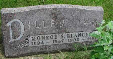 DILLEY, BLANCHE D. - Yankton County, South Dakota | BLANCHE D. DILLEY - South Dakota Gravestone Photos