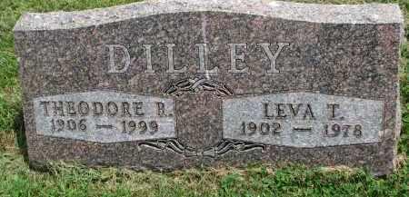 DILLEY, THEODORE R. - Yankton County, South Dakota | THEODORE R. DILLEY - South Dakota Gravestone Photos