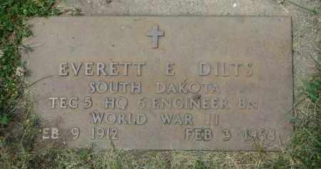 DILTS, EVERETT E. (WW II) - Yankton County, South Dakota | EVERETT E. (WW II) DILTS - South Dakota Gravestone Photos