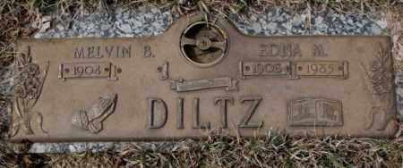 DILTZ, EDNA M. - Yankton County, South Dakota | EDNA M. DILTZ - South Dakota Gravestone Photos