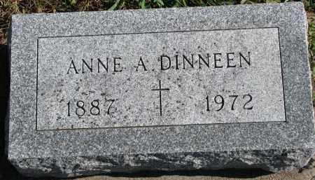 DINNEEN, ANNE A. - Yankton County, South Dakota | ANNE A. DINNEEN - South Dakota Gravestone Photos