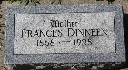 DINNEEN, FRANCES - Yankton County, South Dakota | FRANCES DINNEEN - South Dakota Gravestone Photos