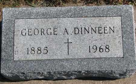 DINNEEN, GEORGE A. - Yankton County, South Dakota   GEORGE A. DINNEEN - South Dakota Gravestone Photos