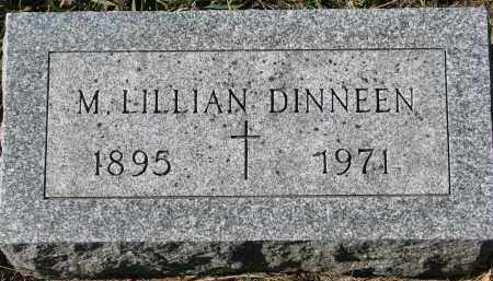 DINNEEN, M. LILLIAN - Yankton County, South Dakota | M. LILLIAN DINNEEN - South Dakota Gravestone Photos