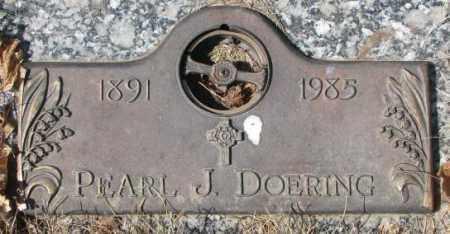 DOERING, PEARL J. - Yankton County, South Dakota | PEARL J. DOERING - South Dakota Gravestone Photos