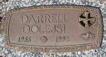 DOLEJSI, DARRELL - Yankton County, South Dakota | DARRELL DOLEJSI - South Dakota Gravestone Photos