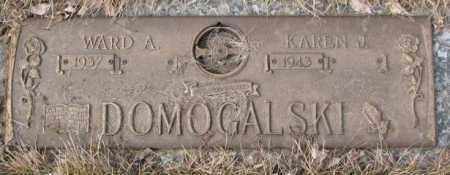 DOMOGALSKI, WARD A. - Yankton County, South Dakota | WARD A. DOMOGALSKI - South Dakota Gravestone Photos