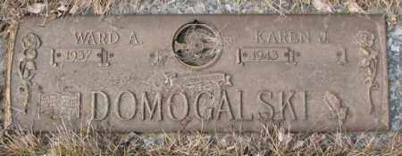 DOMOGALSKI, KAREN J. - Yankton County, South Dakota | KAREN J. DOMOGALSKI - South Dakota Gravestone Photos