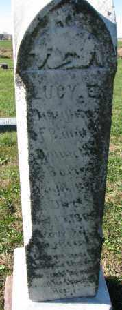 DONNELLY ?, LUCY E. - Yankton County, South Dakota   LUCY E. DONNELLY ? - South Dakota Gravestone Photos