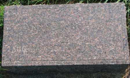 DONOHOE, ANNA - Yankton County, South Dakota | ANNA DONOHOE - South Dakota Gravestone Photos