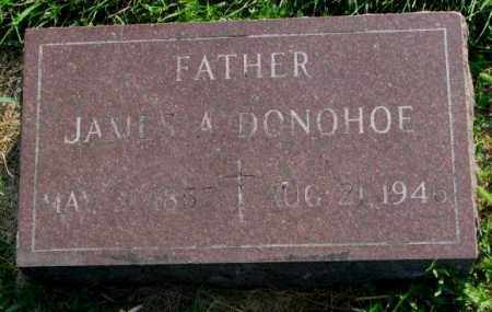 DONOHOE, JAMES A. - Yankton County, South Dakota | JAMES A. DONOHOE - South Dakota Gravestone Photos