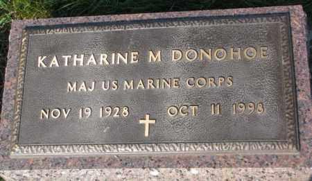 DONOHOE, KATHARINE M. (MILITARY) - Yankton County, South Dakota | KATHARINE M. (MILITARY) DONOHOE - South Dakota Gravestone Photos