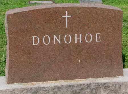 DONOHOE, PLOT - Yankton County, South Dakota | PLOT DONOHOE - South Dakota Gravestone Photos