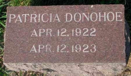 DONOHOE, PATRICIA - Yankton County, South Dakota | PATRICIA DONOHOE - South Dakota Gravestone Photos