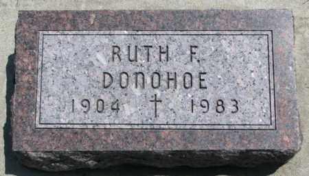 DONOHOE, RUTH F. - Yankton County, South Dakota | RUTH F. DONOHOE - South Dakota Gravestone Photos