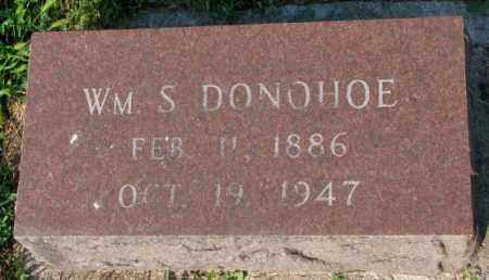 DONOHOE, WM. S. - Yankton County, South Dakota   WM. S. DONOHOE - South Dakota Gravestone Photos