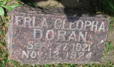 DORAN, ERLA CLEOPHA - Yankton County, South Dakota   ERLA CLEOPHA DORAN - South Dakota Gravestone Photos