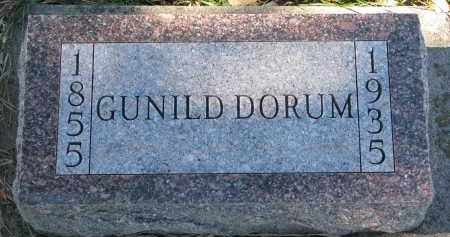 DORUM, GUNILD - Yankton County, South Dakota | GUNILD DORUM - South Dakota Gravestone Photos