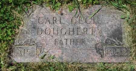 DOUGHERTY, CARL CECIL - Yankton County, South Dakota   CARL CECIL DOUGHERTY - South Dakota Gravestone Photos