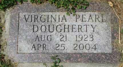 DOUGHERTY, VIRGINIA PEARL - Yankton County, South Dakota | VIRGINIA PEARL DOUGHERTY - South Dakota Gravestone Photos