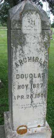 DOUGLAS, ARCHIBLE - Yankton County, South Dakota | ARCHIBLE DOUGLAS - South Dakota Gravestone Photos