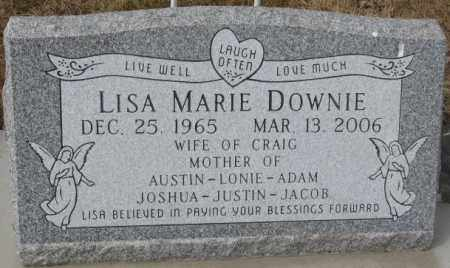 DOWNIE, LISA MARIE - Yankton County, South Dakota | LISA MARIE DOWNIE - South Dakota Gravestone Photos