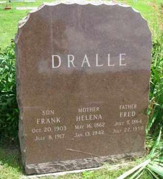 DRALLE, HELENA - Yankton County, South Dakota   HELENA DRALLE - South Dakota Gravestone Photos