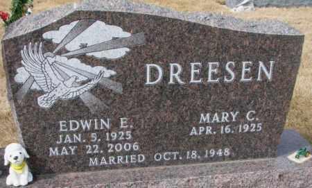DREESEN, MARY C. - Yankton County, South Dakota | MARY C. DREESEN - South Dakota Gravestone Photos