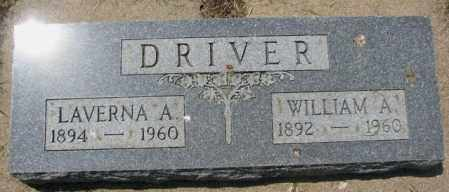DRIVER, LAVERNA A. - Yankton County, South Dakota | LAVERNA A. DRIVER - South Dakota Gravestone Photos