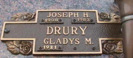 DRURY, JOSEPH H. - Yankton County, South Dakota | JOSEPH H. DRURY - South Dakota Gravestone Photos