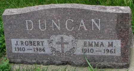 DUNCAN, EMMA M. - Yankton County, South Dakota | EMMA M. DUNCAN - South Dakota Gravestone Photos