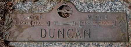 DUNCAN, MARY E. - Yankton County, South Dakota | MARY E. DUNCAN - South Dakota Gravestone Photos