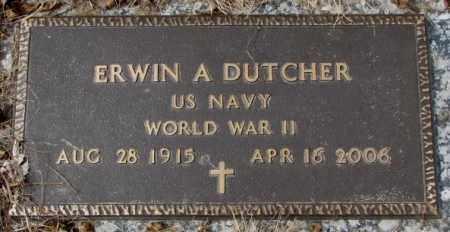 DUTCHER, ERWIN A.  (WW II) - Yankton County, South Dakota | ERWIN A.  (WW II) DUTCHER - South Dakota Gravestone Photos