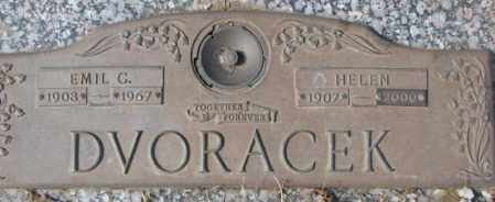 DVORACEK, HELEN - Yankton County, South Dakota | HELEN DVORACEK - South Dakota Gravestone Photos