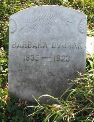 DVORAK, BARBARA - Yankton County, South Dakota   BARBARA DVORAK - South Dakota Gravestone Photos