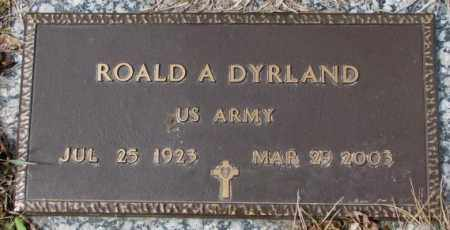 DYRLAND, ROALD A. - Yankton County, South Dakota | ROALD A. DYRLAND - South Dakota Gravestone Photos