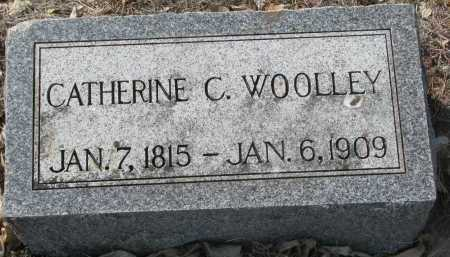 WOOLLEY, CATHERINE C. - Yankton County, South Dakota | CATHERINE C. WOOLLEY - South Dakota Gravestone Photos