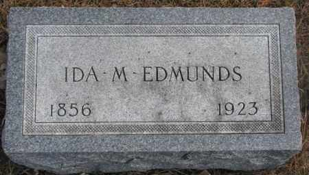 EDMUNDS, IDA M. - Yankton County, South Dakota | IDA M. EDMUNDS - South Dakota Gravestone Photos