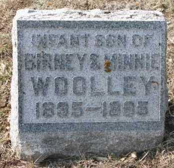 WOOLLEY, INFANT SON - Yankton County, South Dakota | INFANT SON WOOLLEY - South Dakota Gravestone Photos