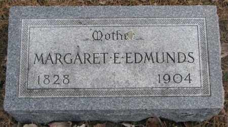 EDMUNDS, MARGARET E. - Yankton County, South Dakota | MARGARET E. EDMUNDS - South Dakota Gravestone Photos