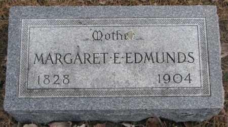 EDMUNDS, MARGARET E. - Yankton County, South Dakota | MARGARET E. EDMUNDS - South Dakota Gravestone Photos