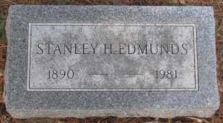 EDMUNDS, STANLEY H. - Yankton County, South Dakota | STANLEY H. EDMUNDS - South Dakota Gravestone Photos
