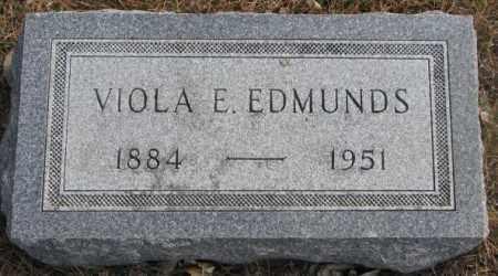 EDMUNDS, VIOLA E. - Yankton County, South Dakota   VIOLA E. EDMUNDS - South Dakota Gravestone Photos