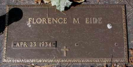 EIDE, FLORENCE M. - Yankton County, South Dakota | FLORENCE M. EIDE - South Dakota Gravestone Photos