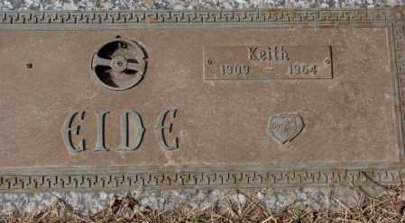 EIDE, KEITH - Yankton County, South Dakota | KEITH EIDE - South Dakota Gravestone Photos