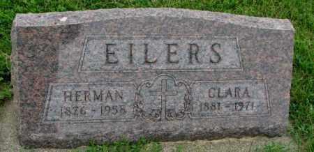 EILERS, CLARA - Yankton County, South Dakota | CLARA EILERS - South Dakota Gravestone Photos