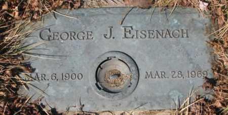 EISENACH, GEORGE J. - Yankton County, South Dakota   GEORGE J. EISENACH - South Dakota Gravestone Photos