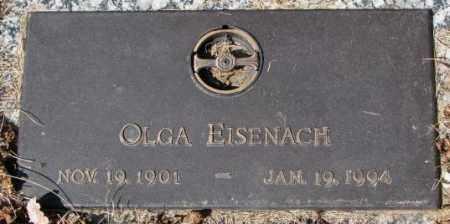 EISENACH, OLGA - Yankton County, South Dakota | OLGA EISENACH - South Dakota Gravestone Photos