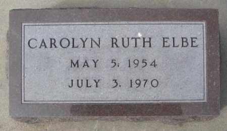 ELBE, CAROLYN RUTH - Yankton County, South Dakota | CAROLYN RUTH ELBE - South Dakota Gravestone Photos